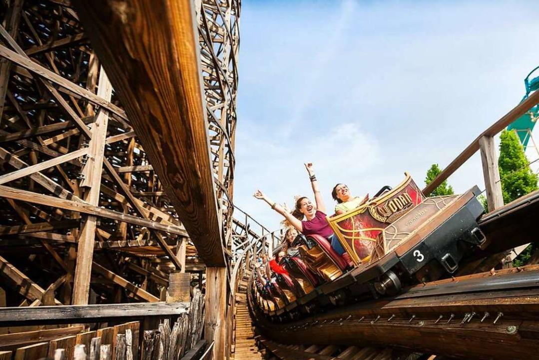 Nervenkitzel garantiert: Die gigantisc... ist ein Magnet für jeden Coaster-Fan.    Foto: Europa-Park