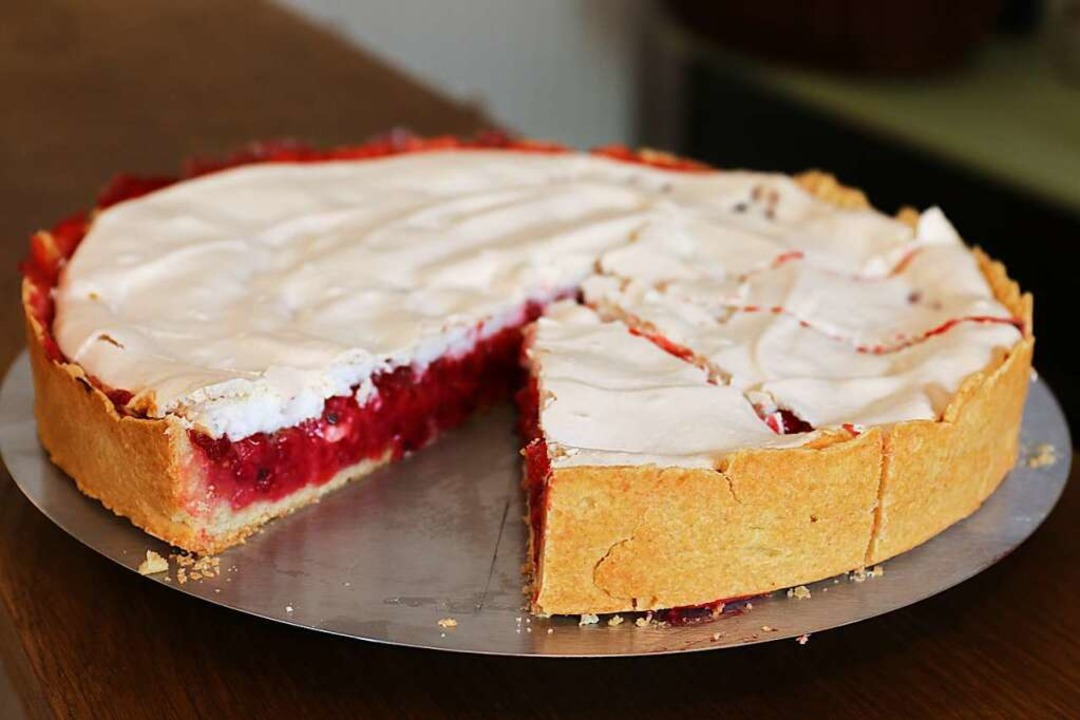 Hausgemachter Kuchen, heute Johannisbeer    Foto: Gina Kutkat