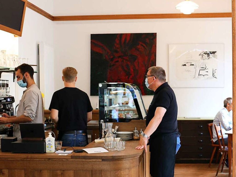 Helle und freundliche Atmosphäre im Café Norso    Foto: Gina Kutkat