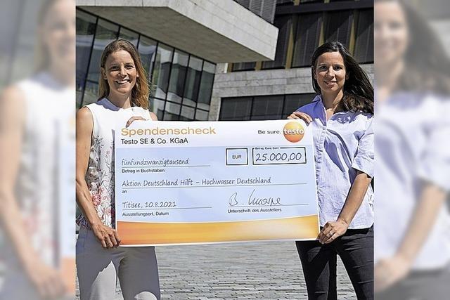 Testo hilft mit 25 000 Euro