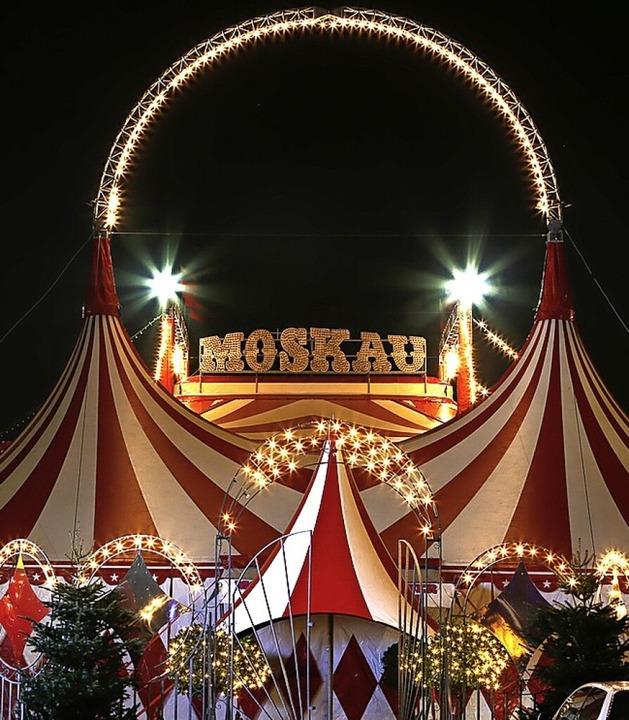 "Der ""Moskauer Circus""    Foto: Privat"