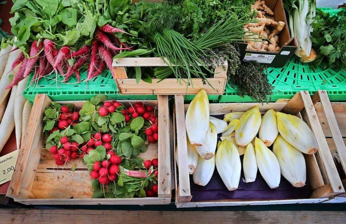 5731 Tonnen  Obst und Gemüse (Vorjahr:...das ist der niedrigste Wert seit 2011.  | Foto: Karl-Josef Hildenbrand
