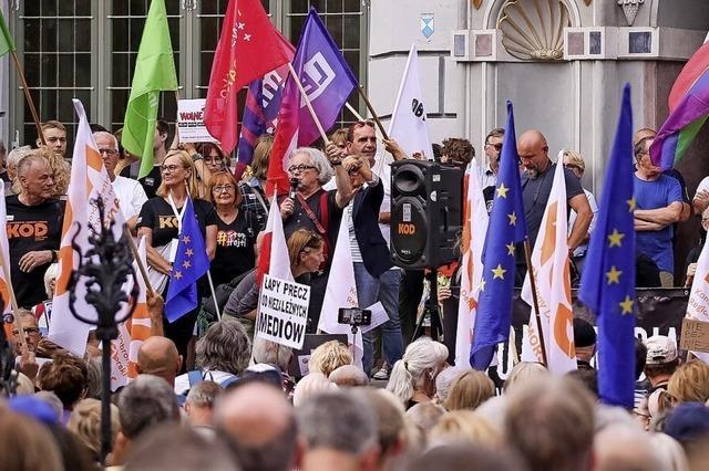Showdown im polnischen Parlament
