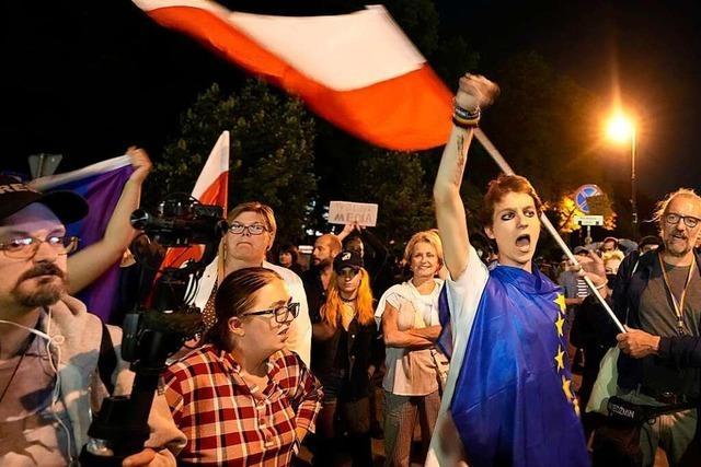 Polens Parlament billigt umstrittenes Rundfunkgesetz