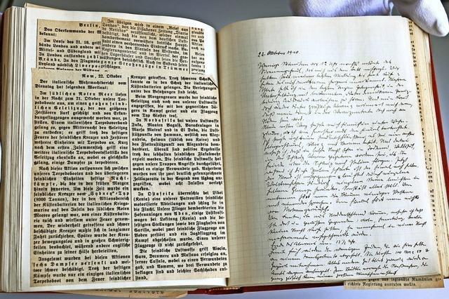 Drogist notierte die Deportation jüdischer Schopfheimer 1940 in sein Tagebuch