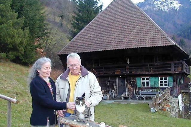 Der Kaltwasserhof am Fuße des Belchens im Münstertal ist ein Schwarzwaldhof mit TV-Karriere