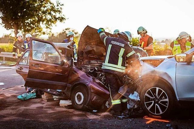 Autofahrerin kommt nach Unfall schwer verletzt ins Krankenhaus