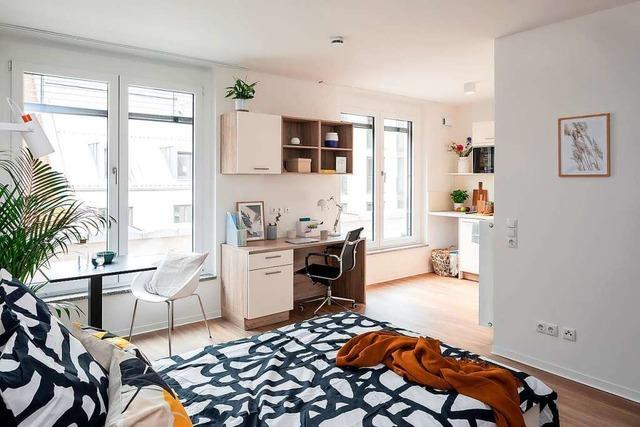 Hell, modern und praktisch – die Apartments im THE FIZZ Freiburg Mitte