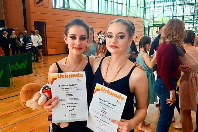 Shania Findling und Alwina Hellwig haben im Ballett viel für das Leben gelernt