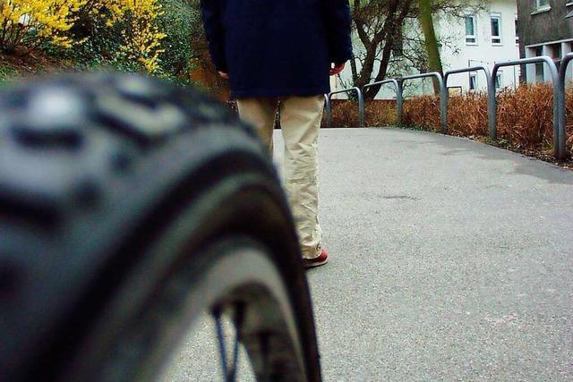 In Binzen gibt es Klagen über allzu forsche Radler auf dem Gehweg