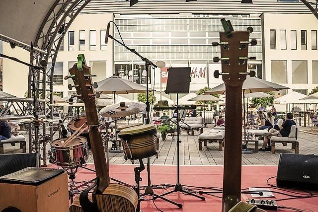 Musik in der Offenburger Innenstadt