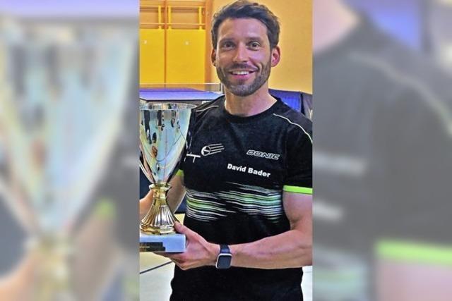 David Bader gewinnt Vereinsmeisterschaft