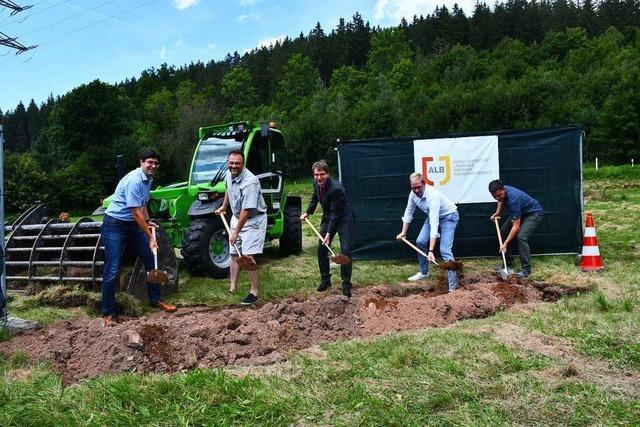 Spatenstich für neue Kompostieranlage
