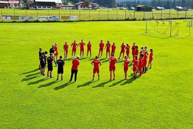 Die Fußballerinnen des SC Freiburg bereiten sich in Tirol auf die Saison vor