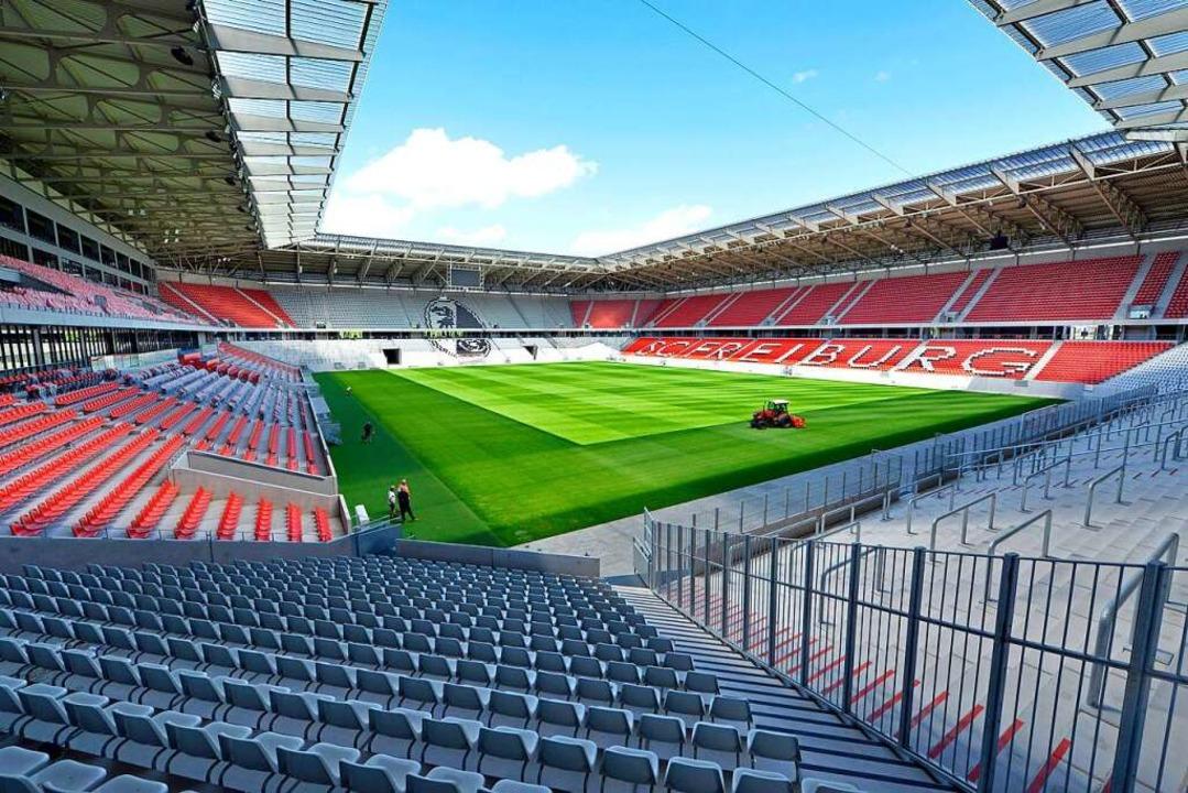 Der Prozess um die Abend- und Sonntags... neuen SC-Stadion schleppt sich dahin.    Foto: Michael Bamberger