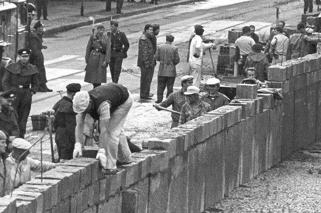 Bau der Berliner Mauer vor 60 Jahren