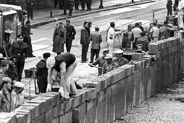 Die Aufarbeitung muss auch 60 Jahre nach dem Bau der Mauer weitergehen