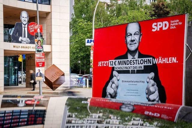 Der Bundestagswahlkampf ist spannender denn je