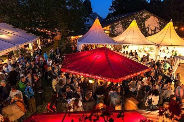 Kulinarisches Weinfest beim Weingut Franckenstein in Offenburg
