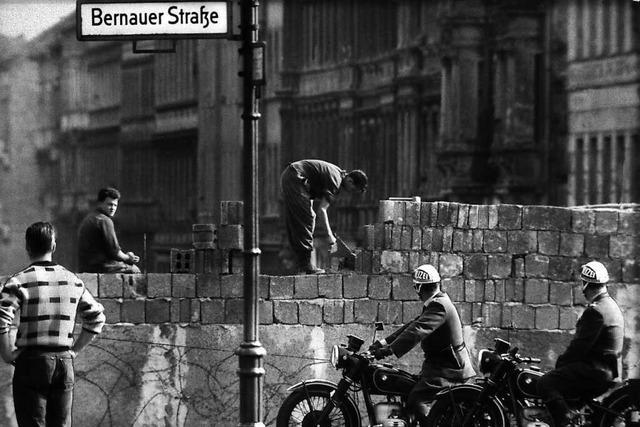 Zwei Breisgauer erinnern sich an den Bau der Berliner Mauer vor 60 Jahren
