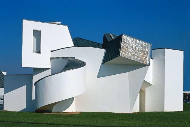 Im Weiler Vitra Campus reiht sich ein Architektur-Highlight ans andere