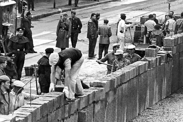 Historiker: Mauer war