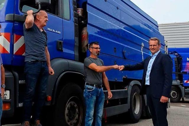 Freiburger Experten helfen in Hochwassergebieten