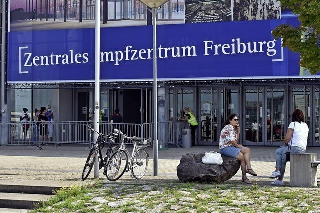SC-Aktion sorgt für Andrang im Freiburger Impfzentrum
