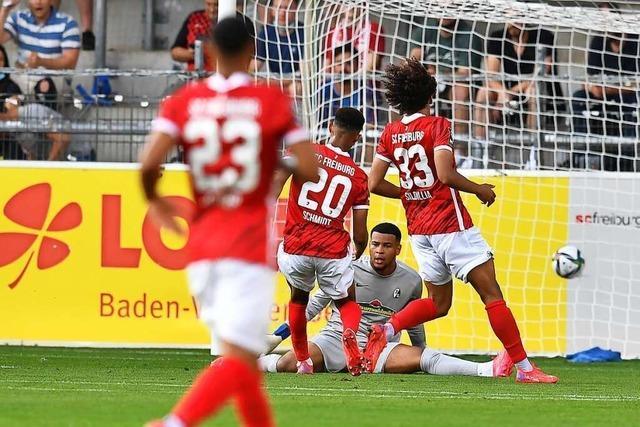 Der SC Freiburg II verliert gegen Borussia Dortmund II 2:5