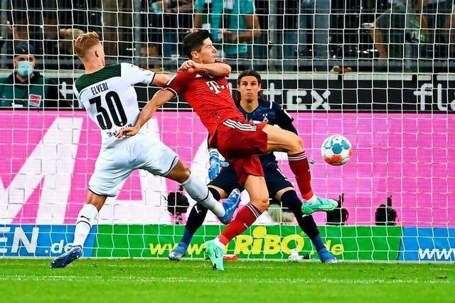 Borussia Mönchengladbach und Bayern München trennen sich 1:1