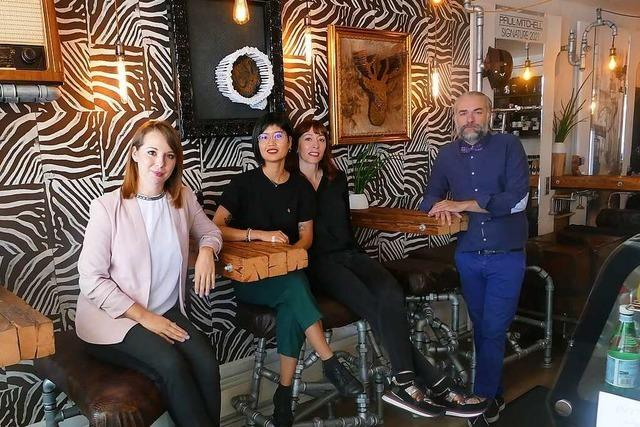Das Positivo in Weil am Rhein ist zugleich Friseursalon und Café