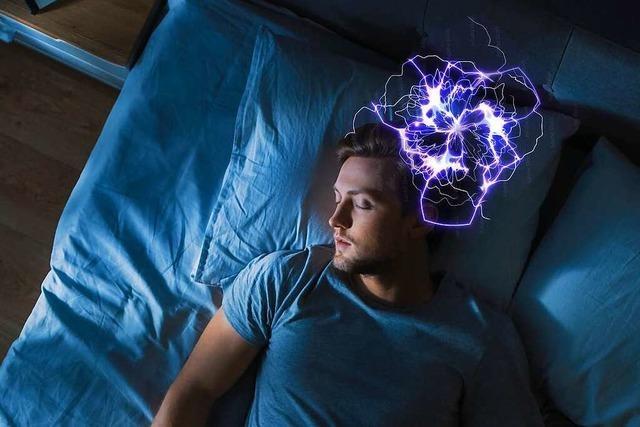 Neuronales Gewitter: Wenn wir träumen, ist unser Gehirn hoch aktiv