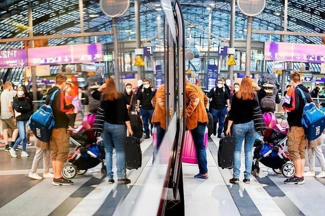 Volle Züge am Wochenende nach dem Bahnstreik