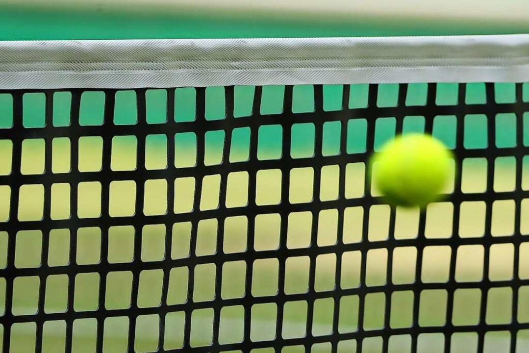 Die Tennisplätze in Ringsheim und Ette... Austragungsorte der Kahlenberg Open.     Foto: Friso Gentsch (dpa)
