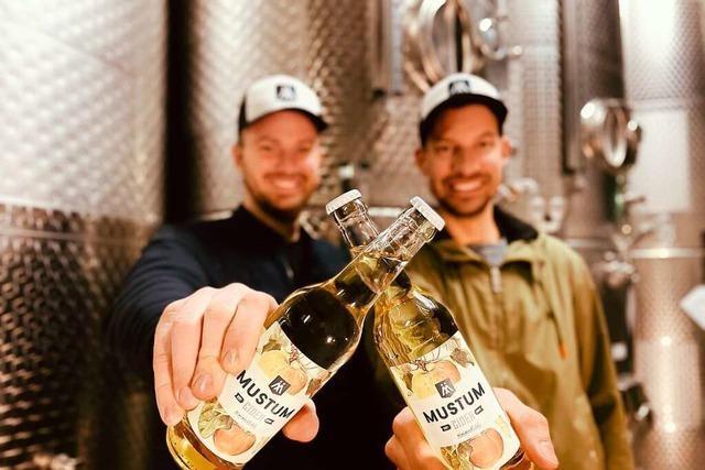 Zwei Winzer am Kaiserstuhl machen Cider