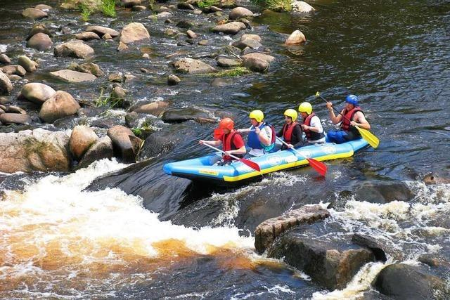 Abenteuer im Flussbett: Adrenalinkick in der Murgtal-Arena