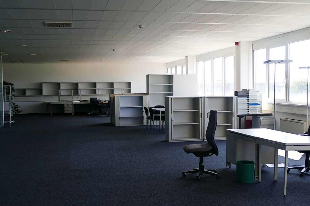 5400 Quadratmeter Bürofläche gibt es i...ngst sind nicht alle wieder vermietet.    Foto: Verena Pichler