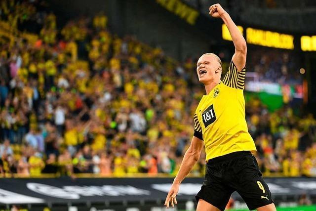 Bundesliga: Dortmund startet furios, Aufsteiger verlieren