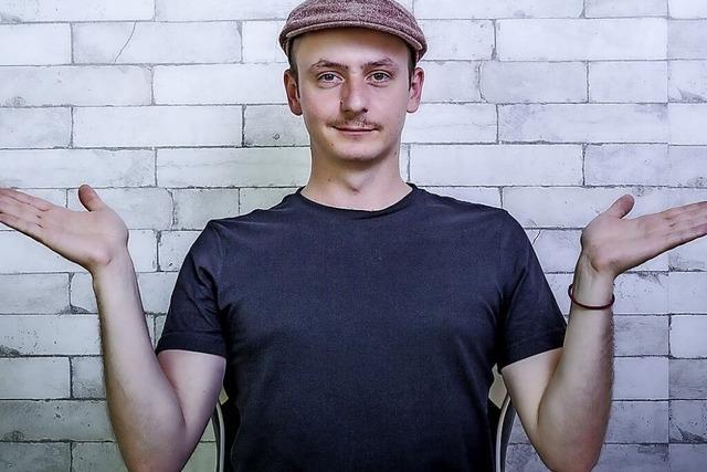 Stefan Danziger im Prinzengarten in Ettenheim