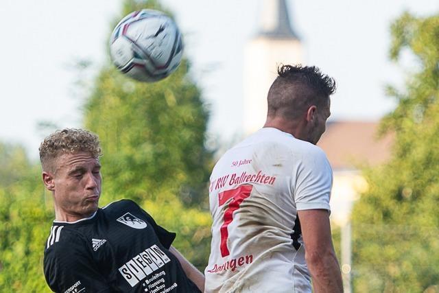 VfR Bad Bellingen holt 0:2 in Ballrechten-Dottingen auf