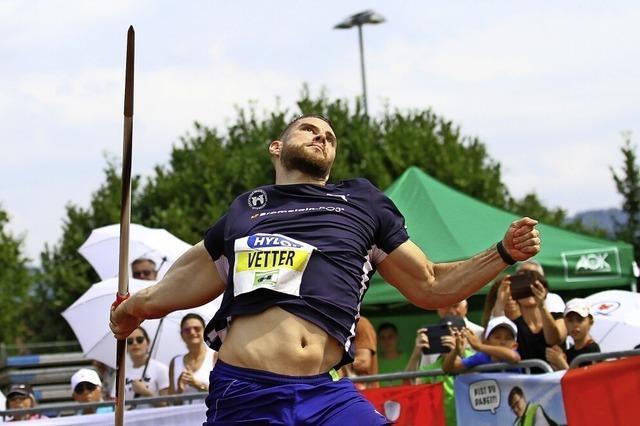 Johannes Vetter gewinnt wieder