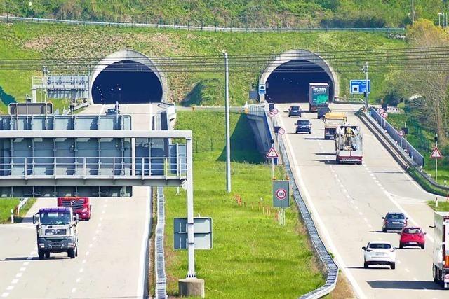 Blitzschlag war wohl Ursache des Rotlichts am Nollinger Bergtunnel