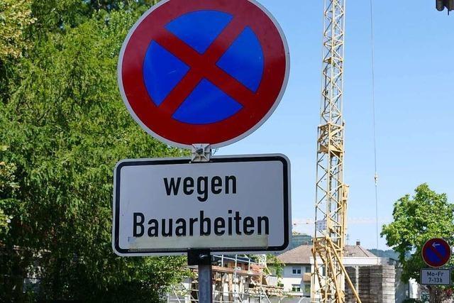 Anwohner in Waldkirch sind genervt von Baustellen und Parkverboten