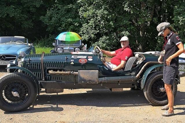 Das älteste von 104 Autos wurde 1938 gebaut