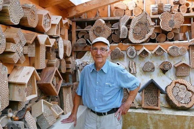 Das ist beim Bau eines Wildbienenhotels zu beachten