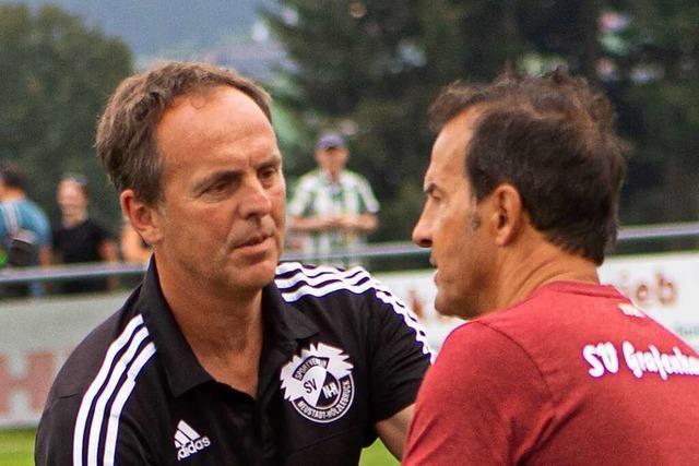 Trainer Björn Schlageter vom Bezirksligisten TuS Bonndorf: