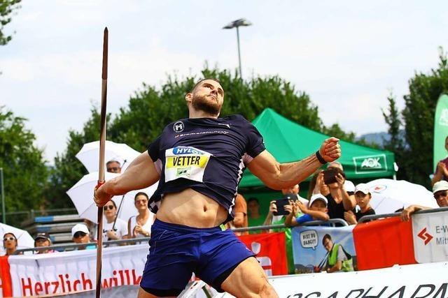 Nach Olympia-Debakel: Johannes Vetter gewinnt Speerwurfmeeting in Offenburg