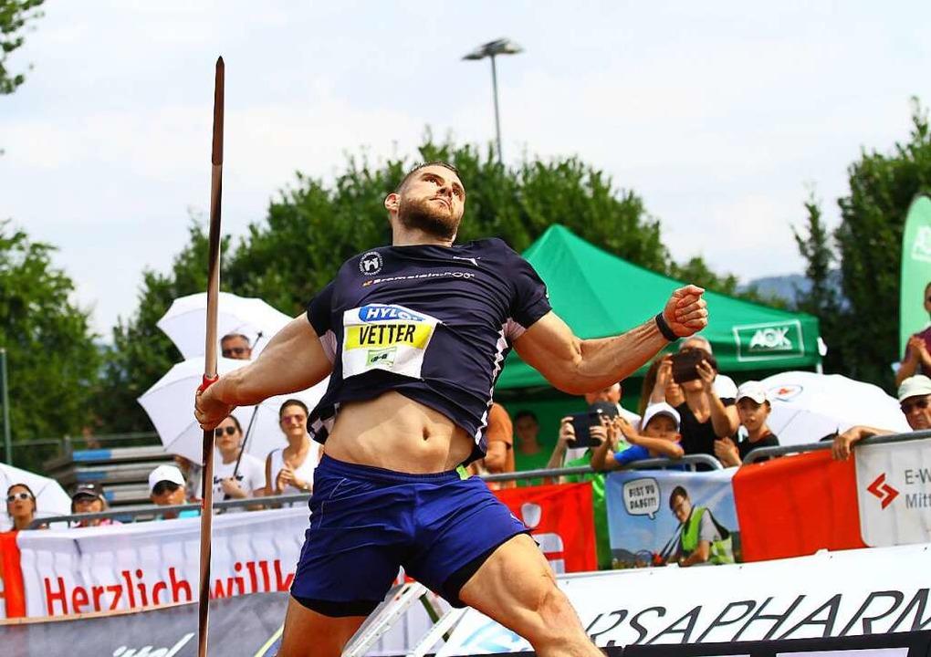 <Anlauf>86,17 Meter weit warf  </Anlau... in Japan die Bronzemedaille gewonnen.  | Foto: Peter Aukthun-Goermer