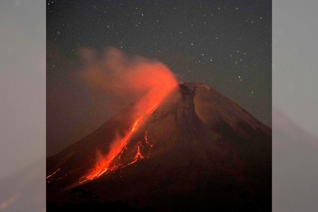 Vulkan Merapi ausgebrochen