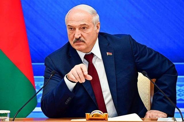 Lukaschenko will sich mit allen Mitteln an der EU rächen